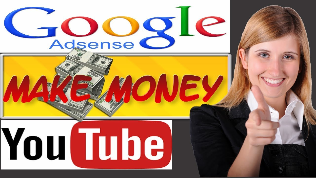make money with google adsense/ how to make money online on youtube/ AdSense income