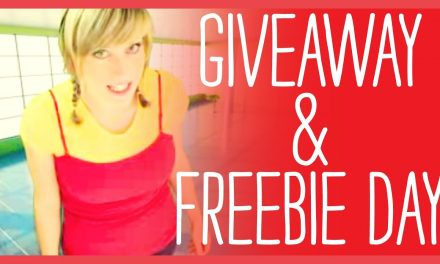 Give Away of Monthly Freebies Plus a A Free Giveaway