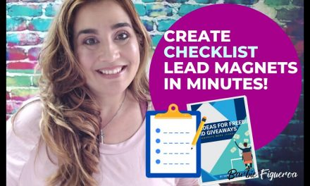 How to Create a Checklist *Lead Magnet* with SQRIBBLE  Ebook Creator Software Uploading a WORD DOC
